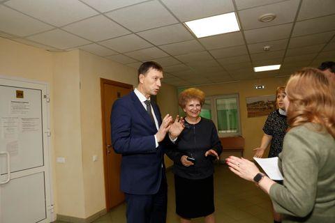 Визит И. Манжурова в Ижевск