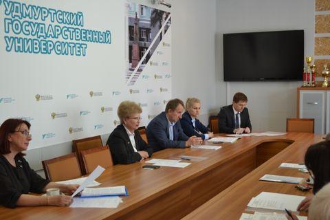 Заседание советов ректоров вузов УР