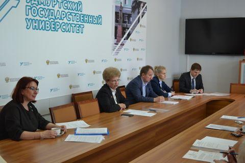Заседание советов ректоров вузов УР 2