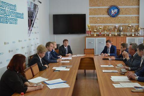 Заседание советов ректоров вузов УР 3