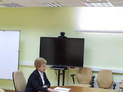 Г.В. Мерзлякова на заседании Президиума Госсовета
