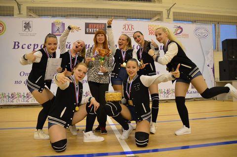 Команда УдГУ заняла 1 место на всероссийских соревнованиях по фитнес-аэробике