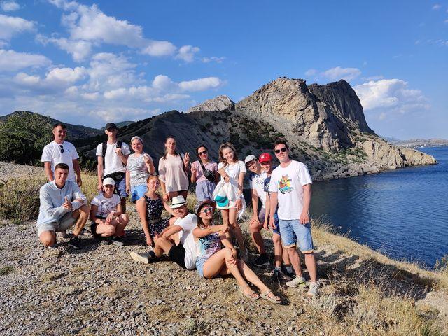 Поездка студентов в Крым