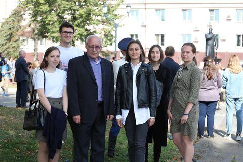 Открытие памятнику Чайковскому 6