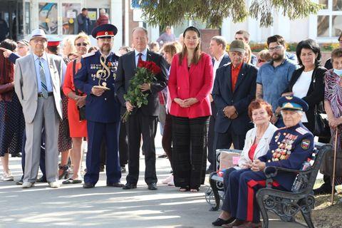 Открытие памятнику Чайковскому 4