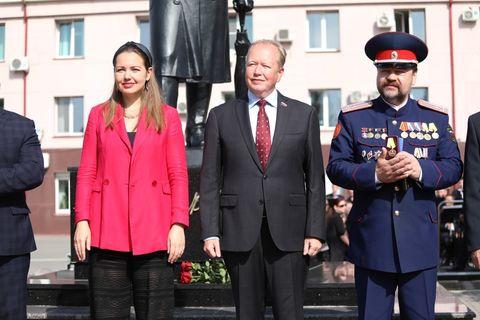 Открытие памятнику Чайковскому 5