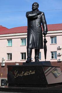 Открытие памятнику Чайковскому 1