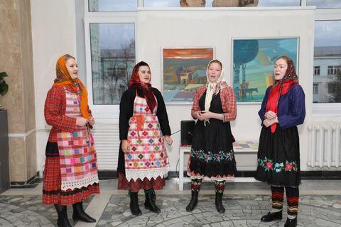 Студенты УдГУ в музее ИИиД
