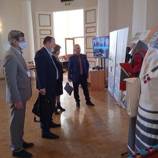 Выставка в Минобрнауки 1