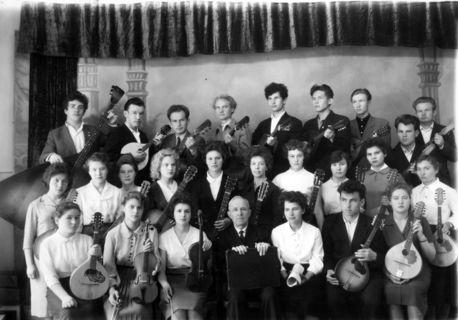 Оркестр УГПИ, 1962 г.