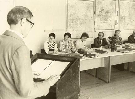 Сдача госэкзамена, 1970-80-е гг.