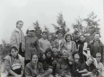 Поездка на Байкал, отделение георгафии, БХФ, 1990 г.