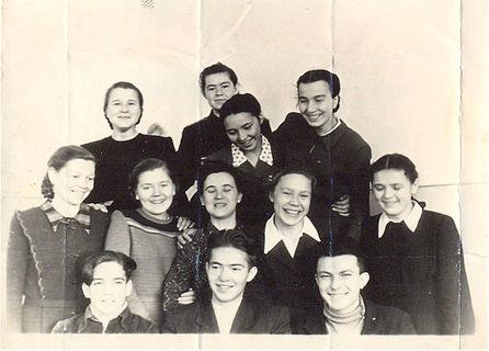 После сдачи сессии, 1950-е гг.
